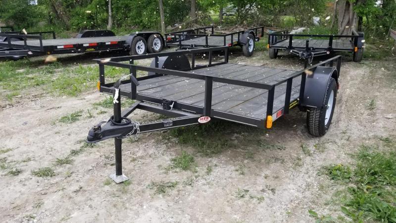 2018 M.E.B. 6.4x10 Tilt Utility Trailer w/Board Holders 3k