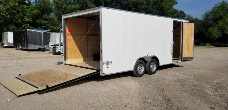 2019 Stealth 8.5x20 Mustang SE Enclosed Car Hauler Trailer 7k