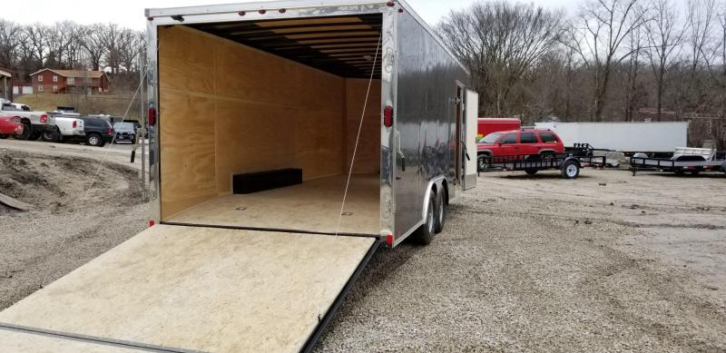 RENTAL #9 8.5x20 Interstate Enclosed Car Hauler