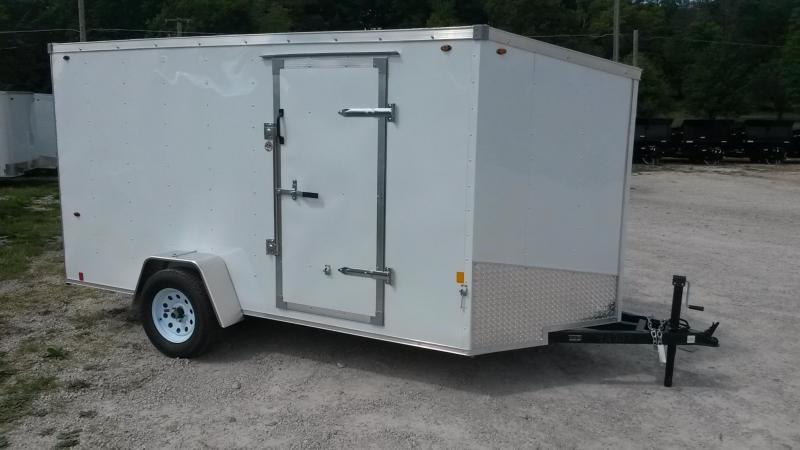 2019 Interstate 6x12 Enclosed Cargo Trailer 3K