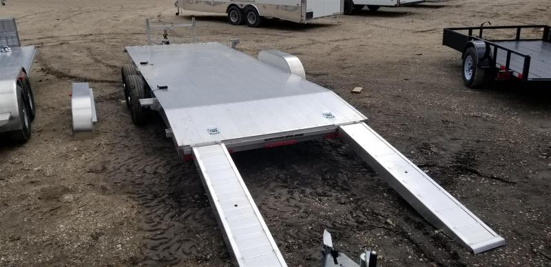 2019 R&R 7x20 All Aluminum Open Deck Auto Hauler 7k