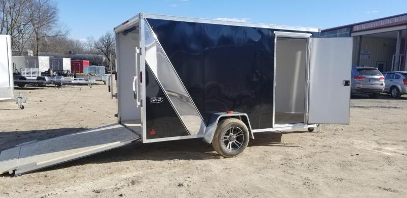 2019 R&R 6x12 FE All Aluminum Enclosed Cargo Trailer 3k