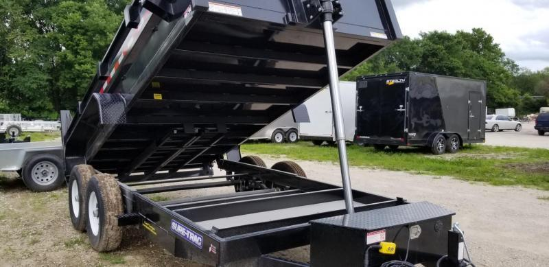 2019 Sure-Trac 82x12 Telescopic Dump Trailer 12k