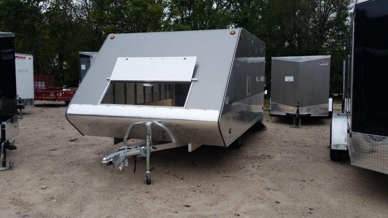 2018 R&R 12ARC Snowmobile Trailer 3k