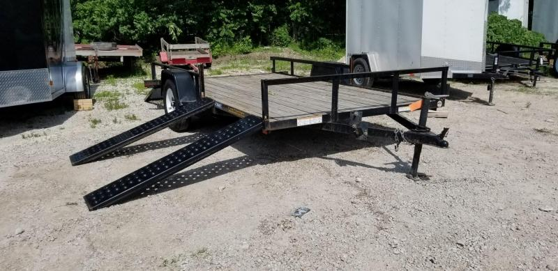 2013 Sure-Trac 7x12 ATV Utility Trailer 3k