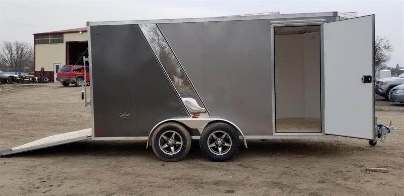 2019 R&R 7x14 Force Elite All Aluminum Enclosed Cargo Trailer 7k
