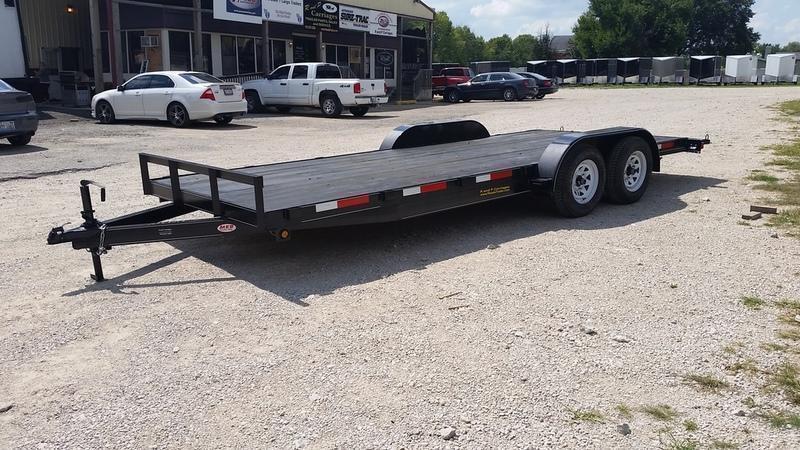 2018 M.E.B 7x18 Wood Deck Car Hauler 7K