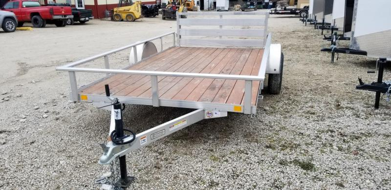 2013 RC Trailers 6.5x12 Aluminum Open Utility Trailer 3k