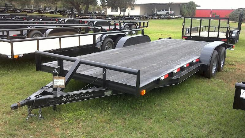 2018 CenTex 82X20 TA Car / Racing Trailer