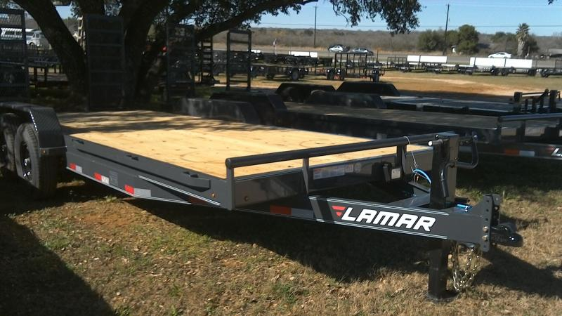 2019 Lamar Trailers 83X20 Super Duty Equipment Trailer