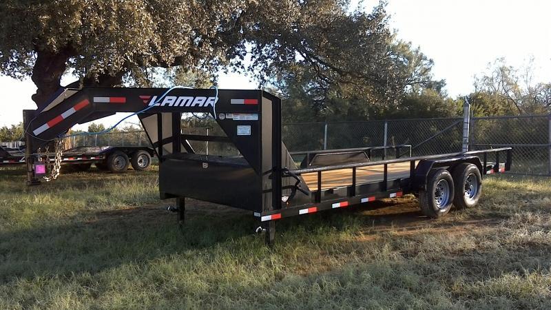 2019 Lamar Trailers 83X20 Gooseneck Equipment Trailer