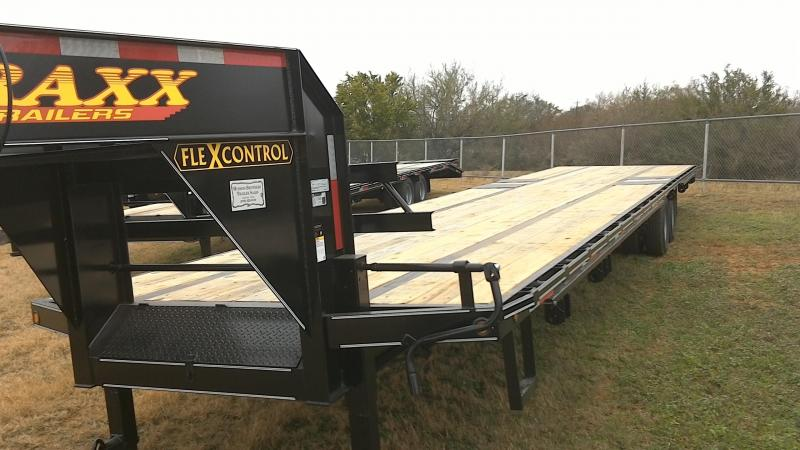 2019 Traxx 102X40 TA Dual Gooseneck Equipment Trailer