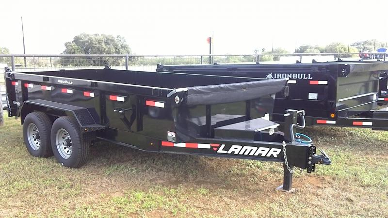 2019 Lamar Trailers 83X14 Low Pro Dump Trailer