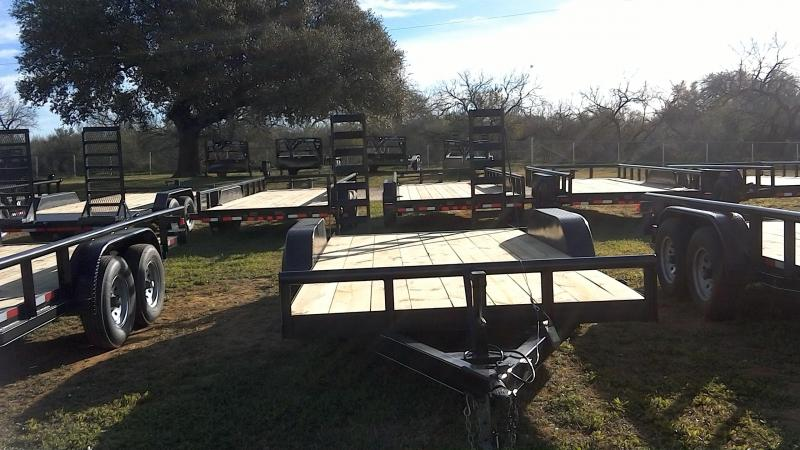 2019 Centex Trailers 82X18 Heavy Duty Utility Trailer