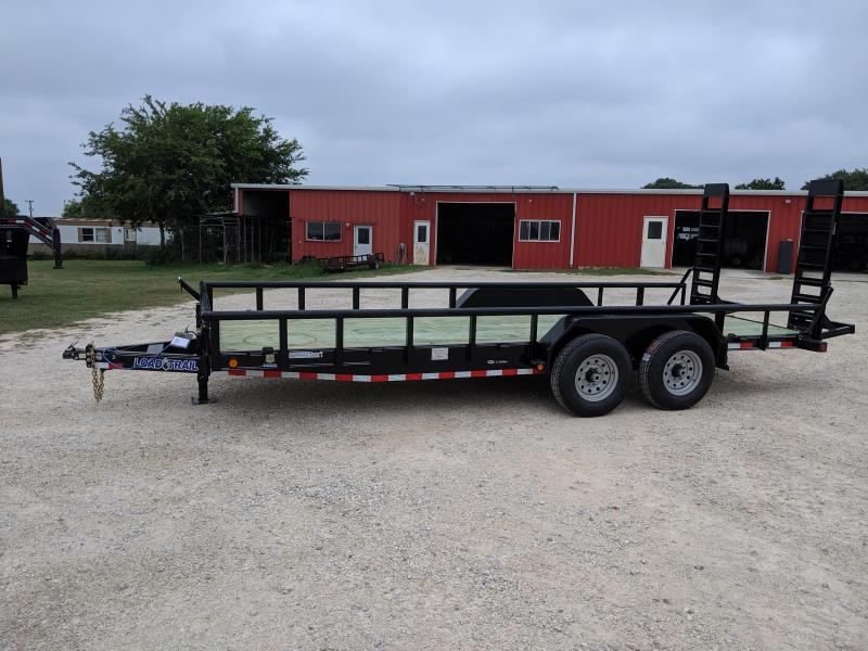 2019 Load Trail 83X20 Tandem Super Duty Utility Trailer