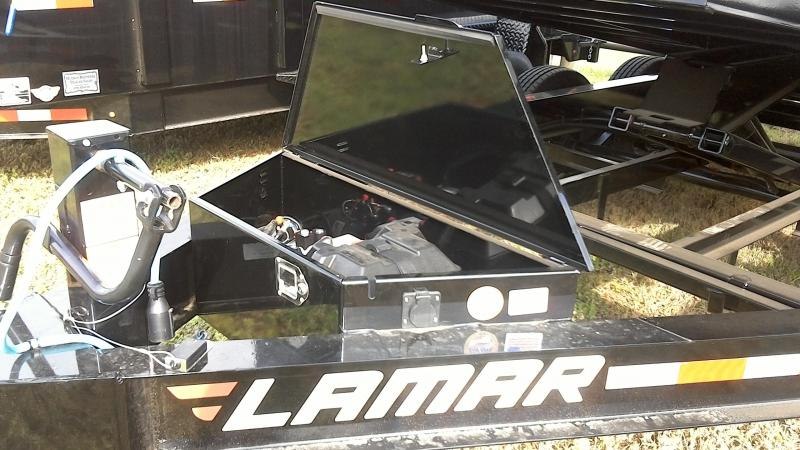 2019 Lamar Trailers 83X16 Low Pro Dump Trailer