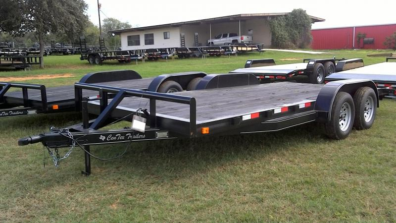 2018 CenTex 82X18 TA Car / Racing Trailer
