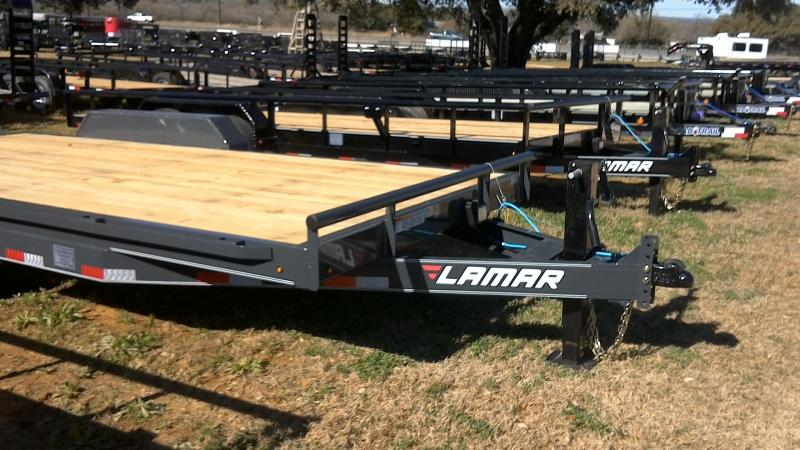 2019 Lamar Trailers 83X18 Super Duty Equipment Trailer