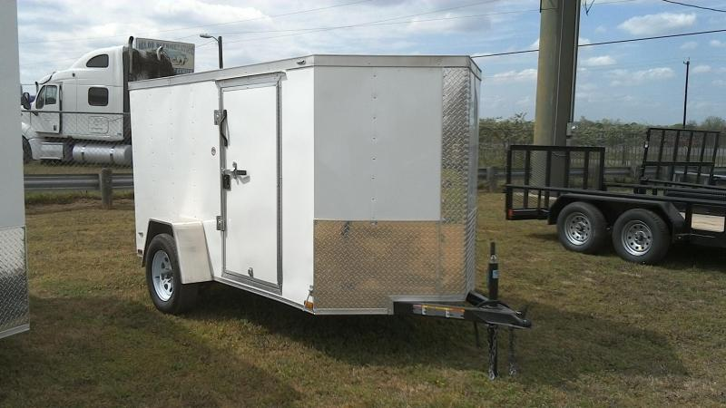 2019 Lark 5X10 Single Axle Enclosed Cargo Trailer