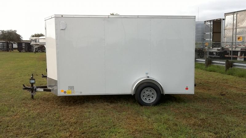 2018 Cargo Mate 6X12 Single Axle Enclosed Cargo Trailer
