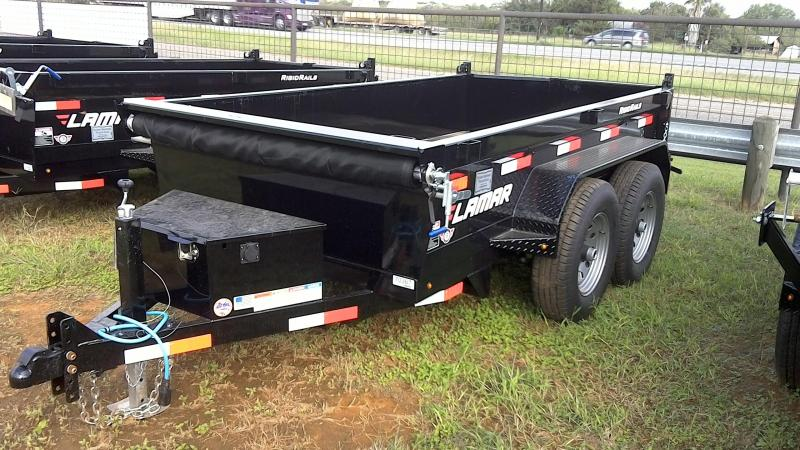 2019 Lamar Trailers 5X10 HD Mini Dump Trailer