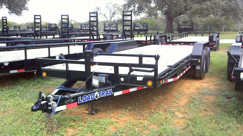 2018 Load Trail 83X20 Super Duty Equipment Trailer