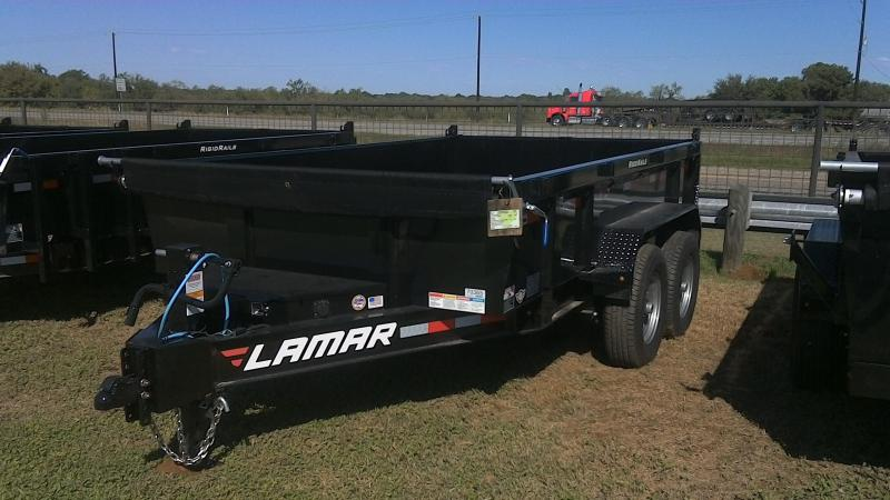 2019 Lamar Trailers 83X12 Low Pro Dump Trailer