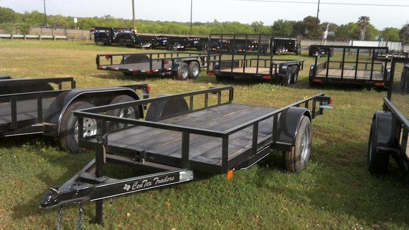 2019 Centex Trailers 5X12 Single Axle Utility Trailer