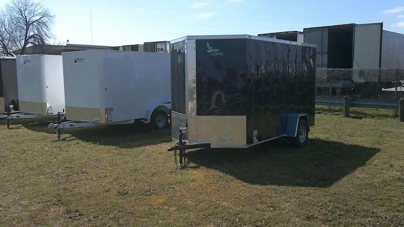 2019 Lark 6X12 Single Axle Enclosed Cargo Trailer