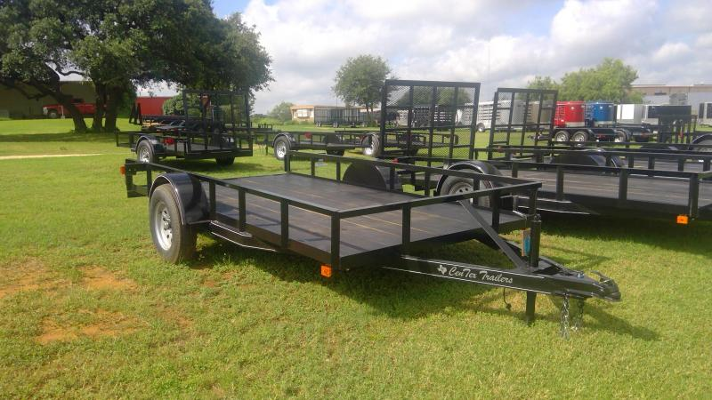 2019 Centex Trailers 76X12 Single Axle Utility Trailer