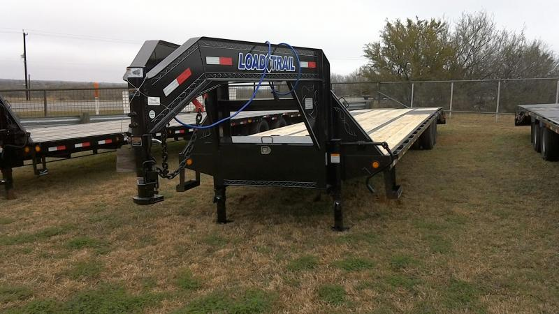 2018 Load Trail 102X40 Low Pro Goose Neck Tandam Dual Flatbed Trailer