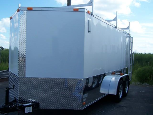 Diamond Cargo 7X14 VR Enclosed Construction Trailer