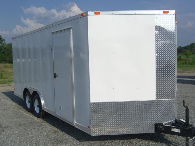 8.5X24 TVR Enclosed Cargo Trailer