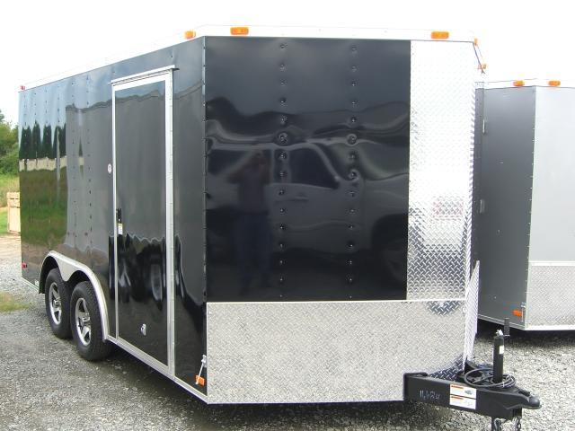 Diamond Cargo 8.5X16 TVR Enclosed Trailer Star Mag