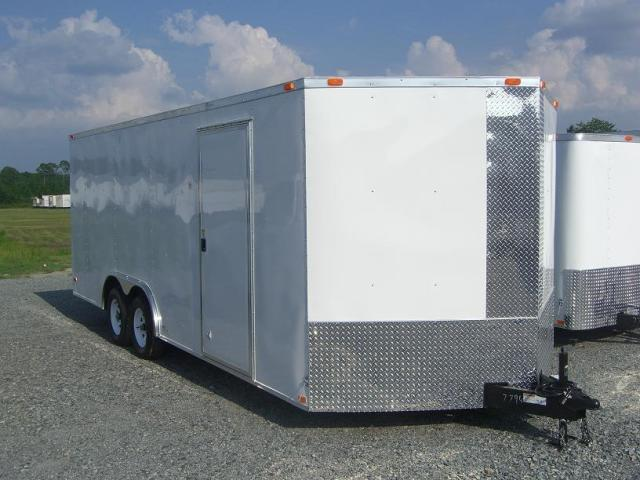 Diamond Cargo 8.5X20 TVR Enclosed Cargo Trailer W/5200 Axles