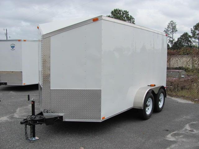 Diamond Cargo 6X12 Enclosed Cargo Trailer for sale TA SLANTED V