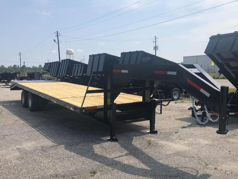 2020 Down 2 Earth Trailers 10 Ton 30' Deckover Gooseneck Equipment Trailer