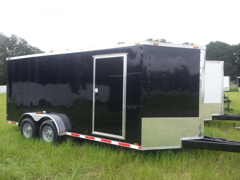 AVAILABLE 02/29/16 CALL AND RESERVE TODAY___________________ Cynergy Cargo 7x16 TA Haulstar Enclosed Cargo Trailer BLACK