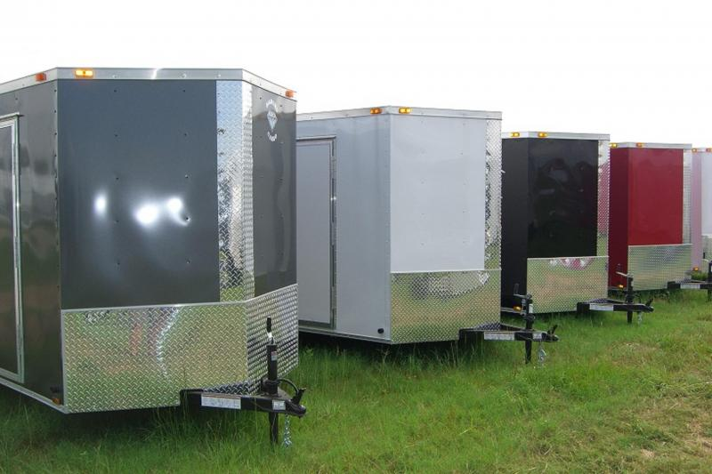 Year End Enclosed Trailer Super Sale - All 2018 6x12 - 8.5x28 Cargo Trailers Must Go!!