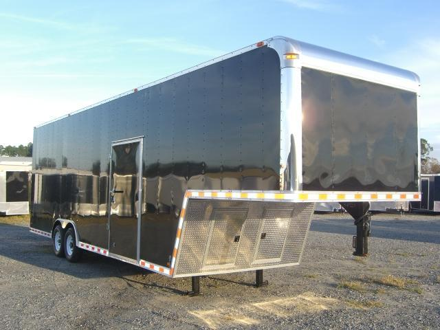 2015 8.5x34 GNT Enclosed Gooseneck  9' Int 7000 lb. Torsions