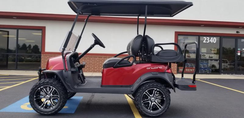 0% 48 months Club Car Onward Golf Car