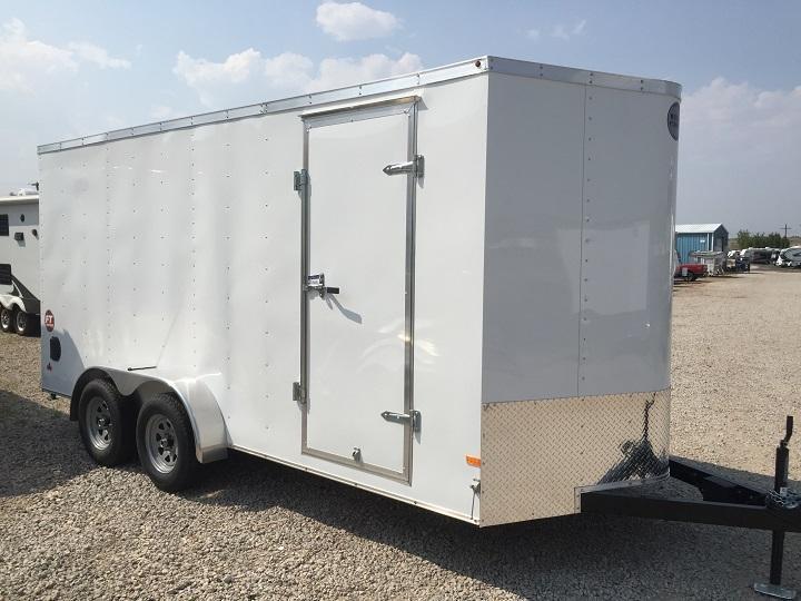 2015 Wells Cargo FT 7x16 Cargo / Enclosed Trailer