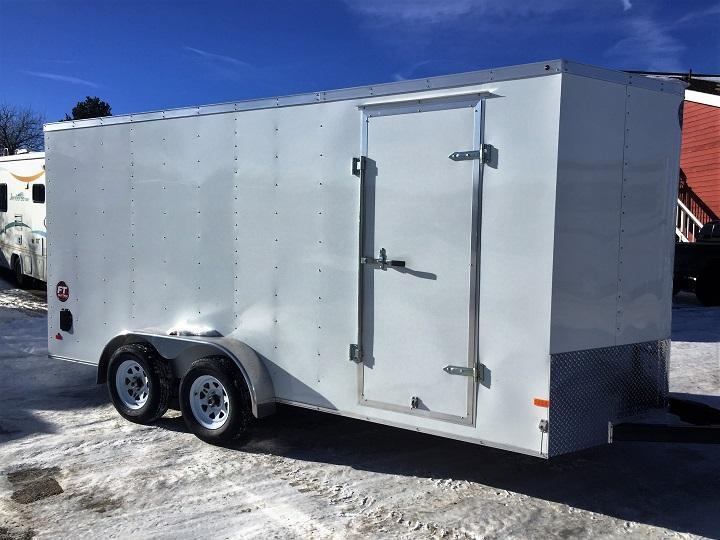 2016 Wells Cargo 7X16Enclosed Cargo Trailer