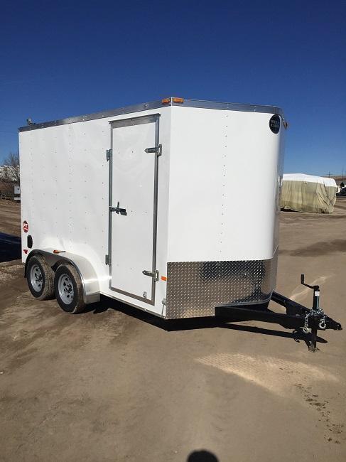 2015 Wells Cargo FT 7x12 Cargo / Enclosed Trailer