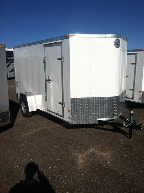 2014 Wells Cargo FT6121 Cargo / Enclosed Trailer