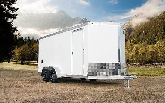 All Aluminum 2016 Wells Cargo WAUV 852022 Enclosed Cargo Trailer