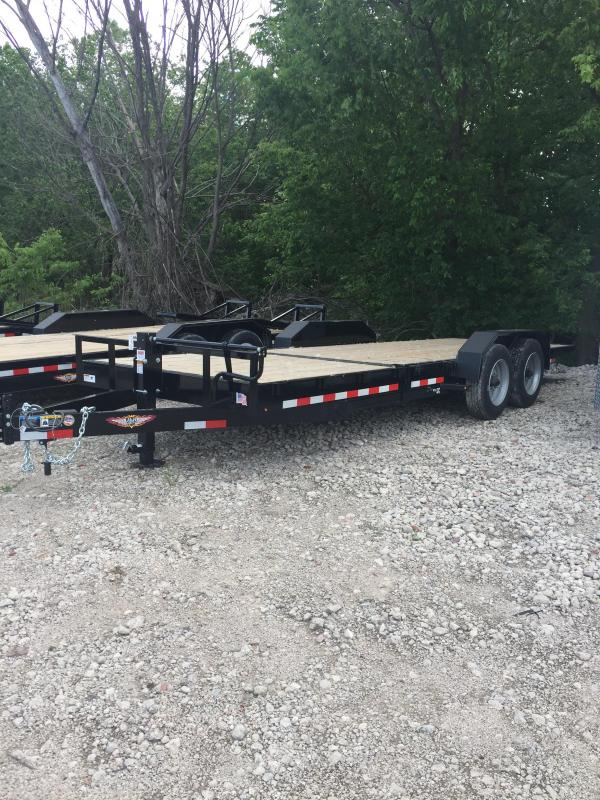 2019 H and H Trailer 16+6 GTL 16K