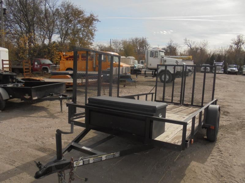 2011 Carry-On 8x12 Utility Trailer