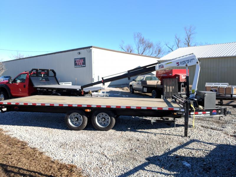 2019 Nation Tank and Trailer 101 x 20 Crane Trailer Flatbed Trailer