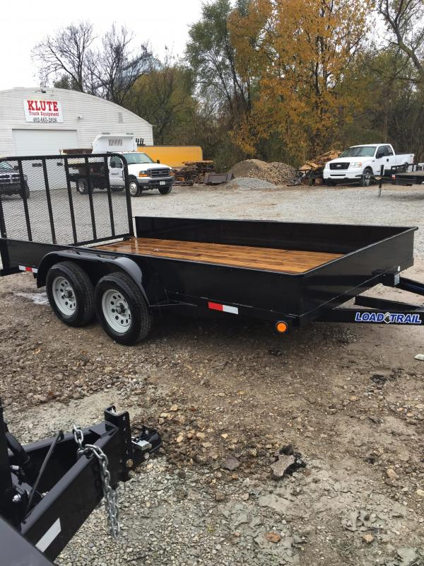 2019 Load Trail 83x14 Solid Side Steel Utility Trailer